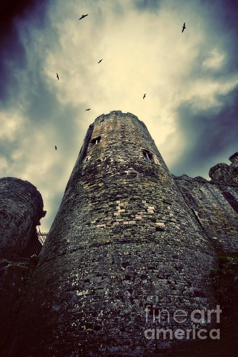 The Chapel Tower Print by Meirion Matthias