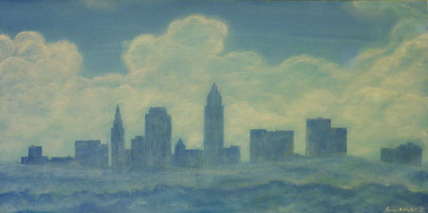 The Cleveland Blues Print by James Violett II