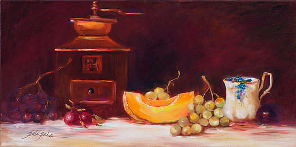 Pati Pelz - The Coffee Grinder Still life