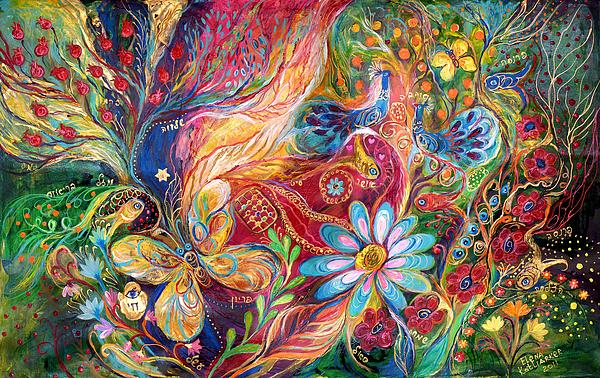 The Colors Of Spring. The Original Can Be Purchased Directly From Www.elenakotliarker.com Print by Elena Kotliarker
