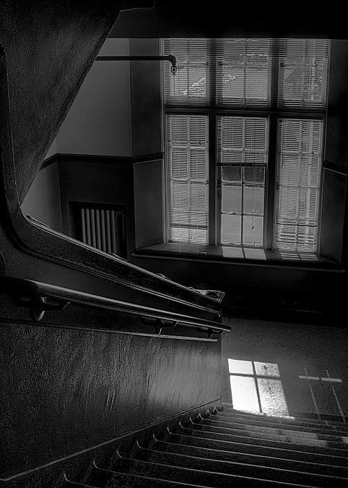 The Conversation Window Print by David Patterson