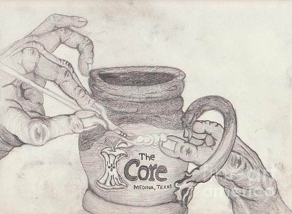 The Core Mug Print by TK Mayfield