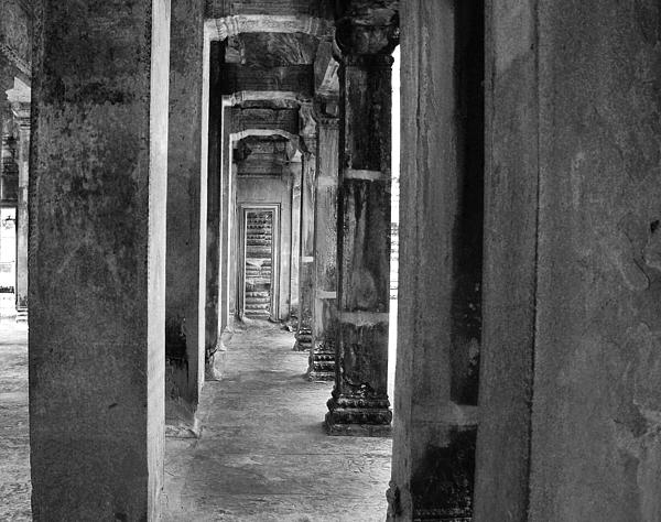 The Corridor Print by Donna Caplinger
