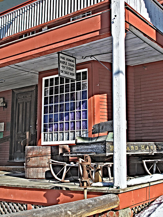 The Country Store Print by Linda Pulvermacher