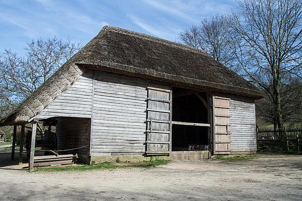 The Cowfold Barn Print by Dawn OConnor