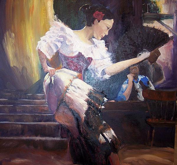 The Dancer Print by Andreia Medlin