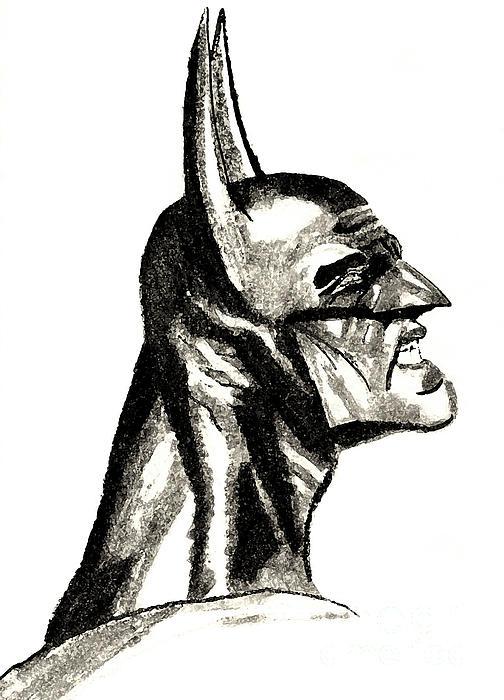 The Dark Knight Print by Ronnie Black