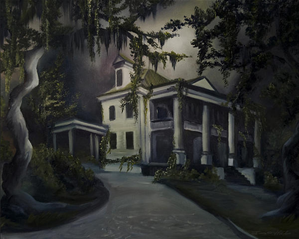 The Dark Plantation Print by James Christopher Hill