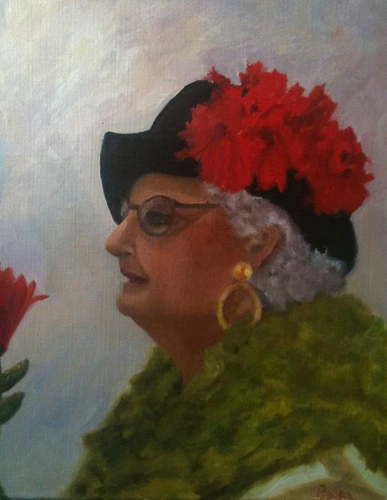 The Diva Print by Betty Pimm