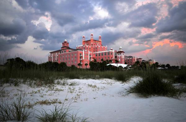 The Don Cesar Print by David Lee Thompson