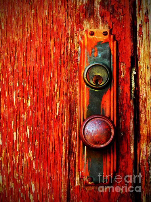 The Door Handle  Print by Tara Turner