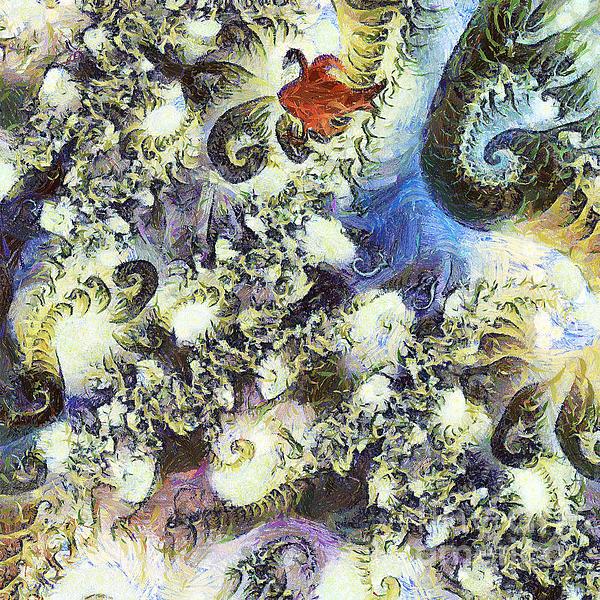 The Dream Swan Print by Odon Czintos