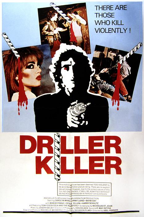 The Driller Killer, Abel Ferrara, 1979 Print by Everett