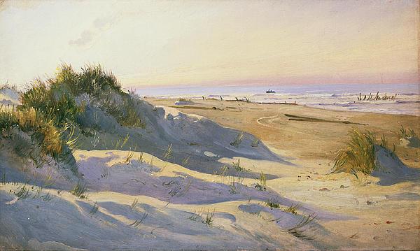 The Dunes Sonderstrand Skagen Print by Holgar Drachman