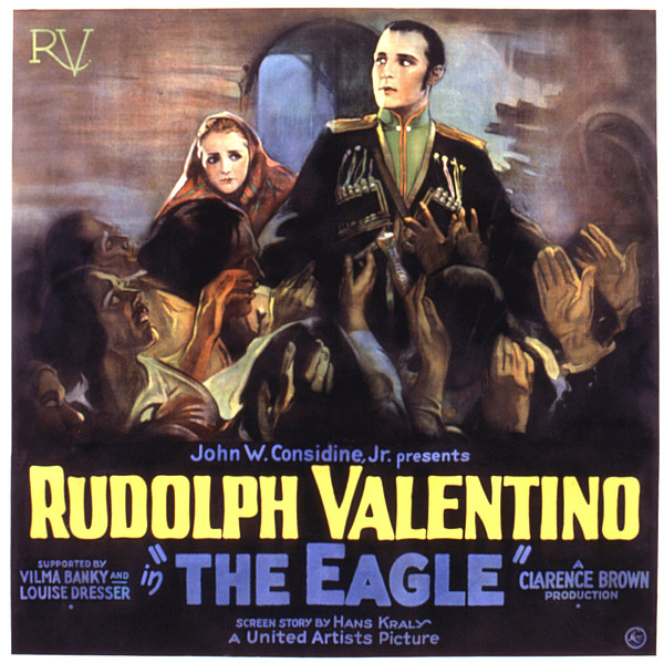 The Eagle, Vilma Banky, Rudolph Print by Everett