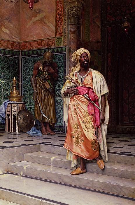 The Emir Print by Ludwig Deutsch