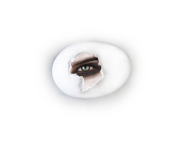 The Eye Print by Yosi Cupano