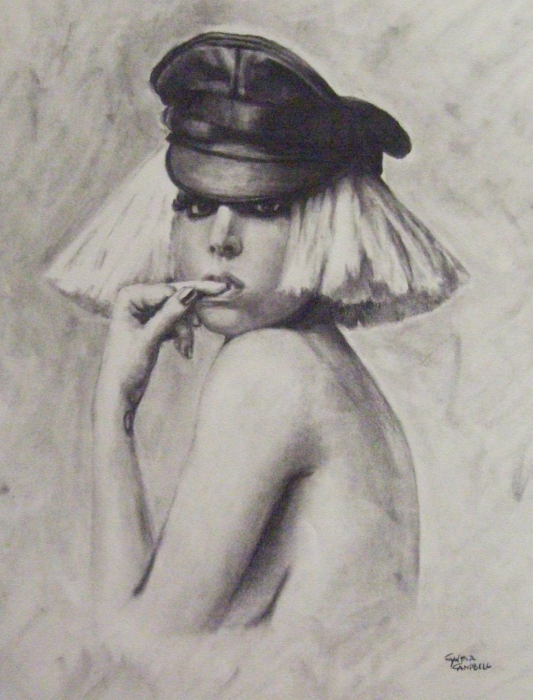 The Fame Monster Print by Cynthia Campbell