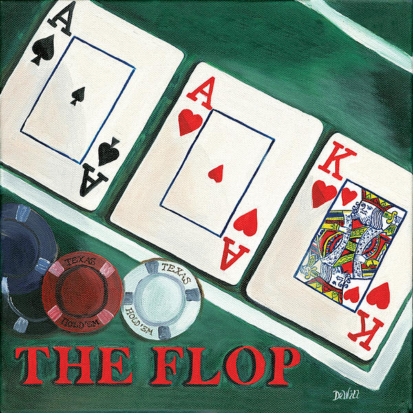 The Flop Print by Debbie DeWitt