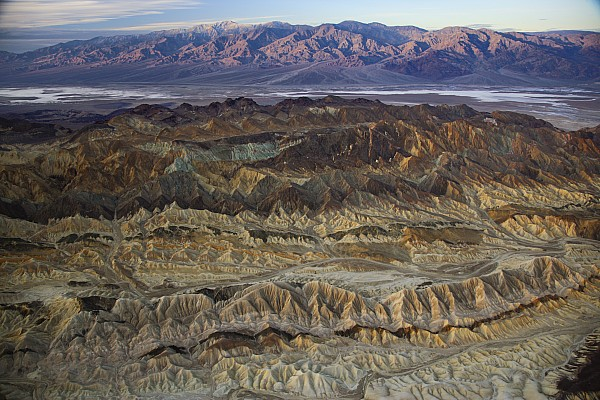 The Foothills Of Amargosa Canyon Print by Michael Melford