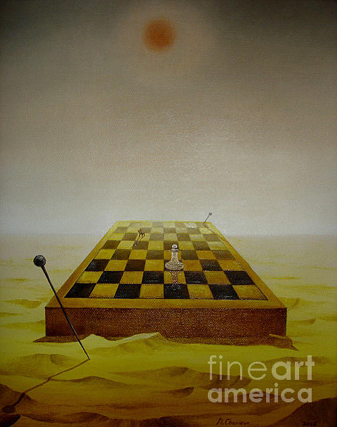 Nathalie Chavieve - The game of chess