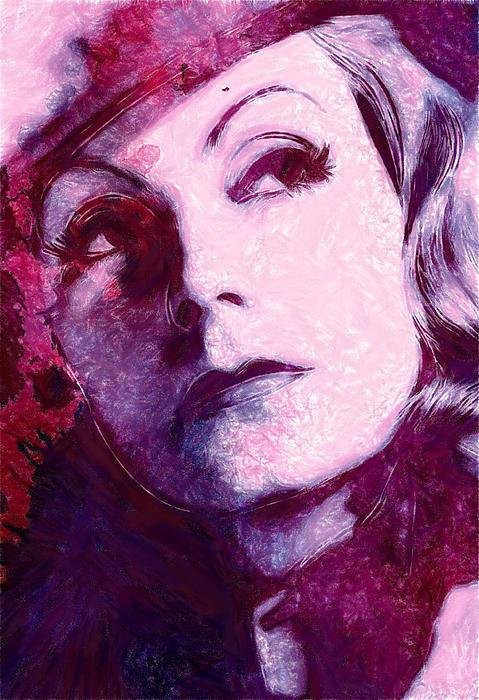 The Garbo Pastel Print by Stefan Kuhn