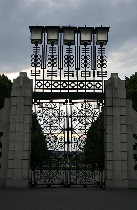 The Gate Print by Nina Fosdick