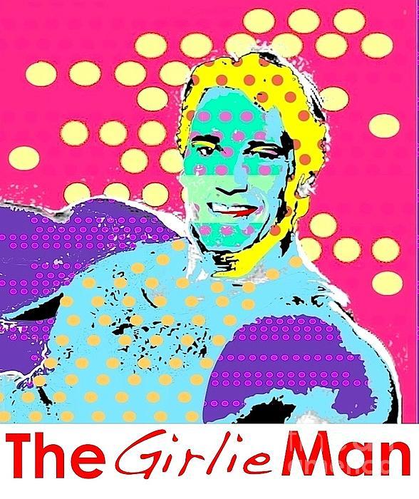 The Girlie Man Print by Ricky Sencion