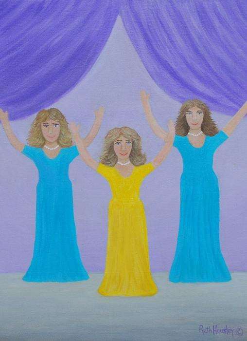 The Giving Of Praise Painting  - The Giving Of Praise Fine Art Print