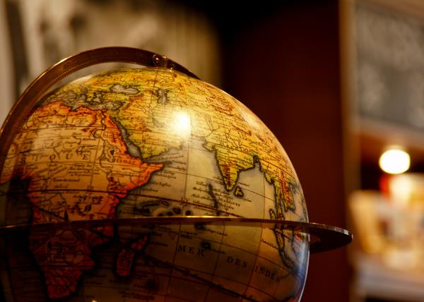 The Globe Print by Edward Myers