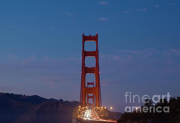 Ei Katsumata - The Golden Gate at Dusk