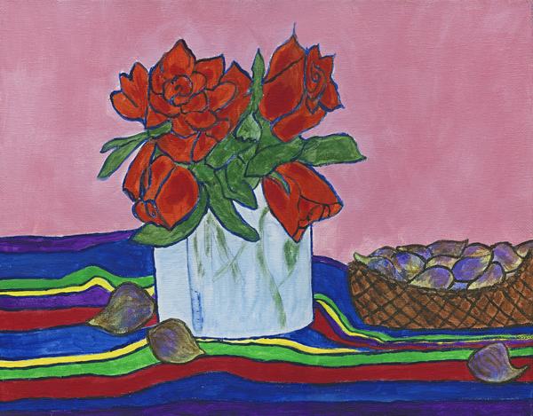 The Good Figs Print by Maureen Ritzel