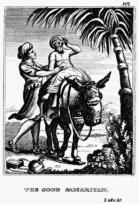 The Good Samaritan Print by Granger