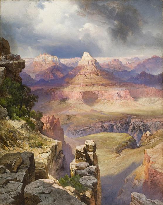 The Grand Canyon Print by Thomas Moran