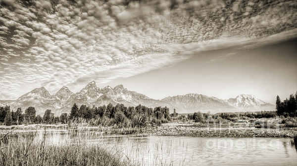 Dustin K Ryan - The Grand Tetons in Jackson Wyoming