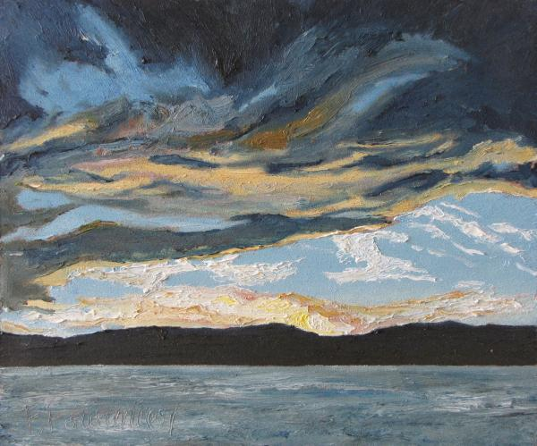 Francois Fournier - The Great Cloud Over The Lake