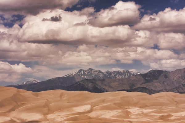 The Great Sand Dunes 88 Print by James BO  Insogna