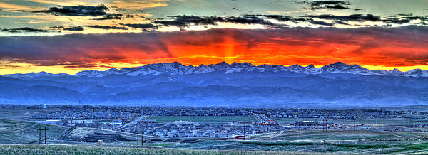 The Great Sunset Print by Scott Mahon