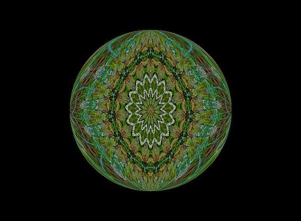 The Green Garden Print by Yvette Pichette