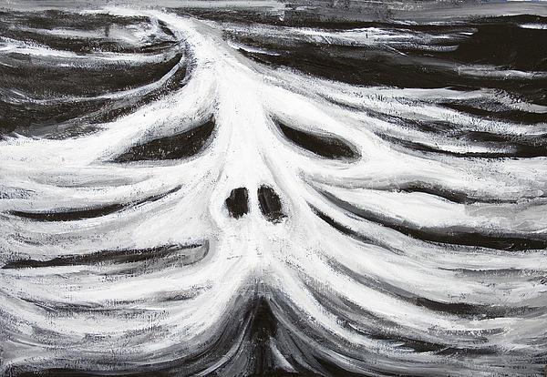 The Head Of Leviathan Print by Kazuya Akimoto
