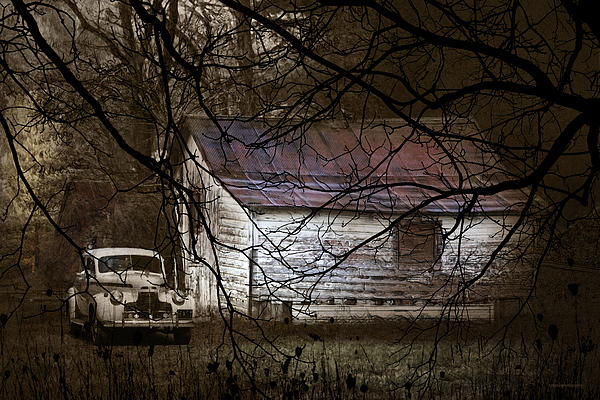 The Hideout Print by Ron Jones
