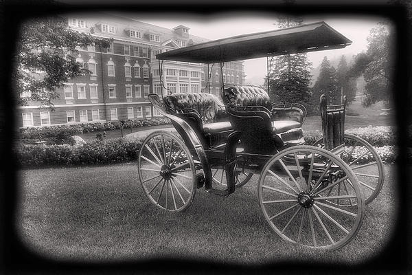 The Homestead Carriage I Print by Steven Ainsworth