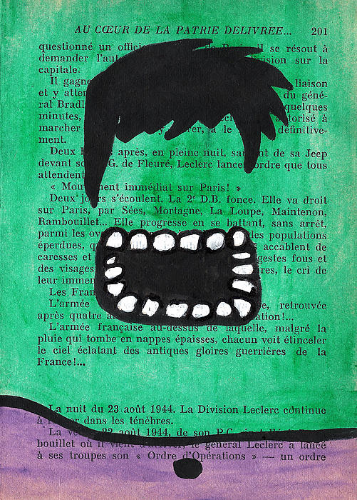 The Hulk Print by Jera Sky