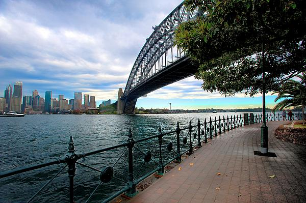 The Iconic Sydney Harbour Bridge Print by Boyd Nesbitt
