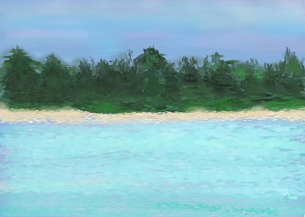 The Island Print by Janet Palaggi