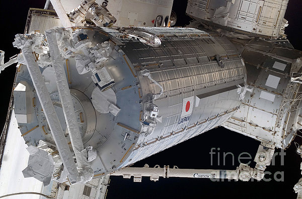 The Japanese Pressurized Module, The Print by Stocktrek Images