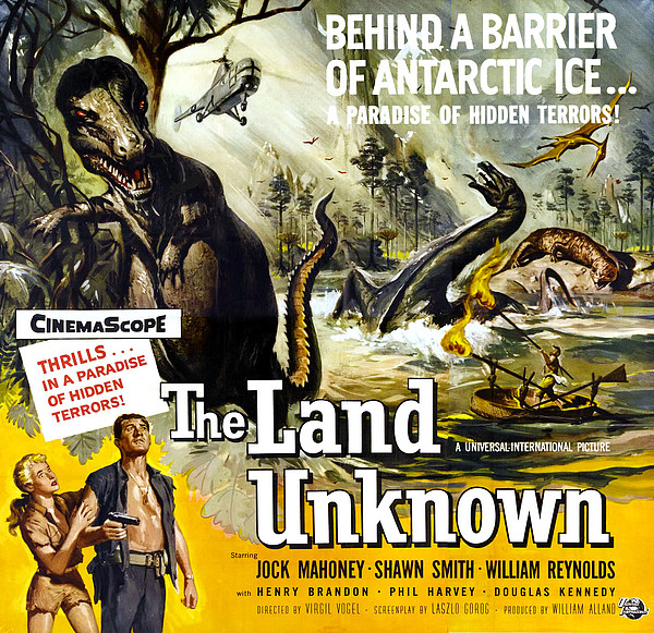 The Land Unknown, Bottom Left From Left Print by Everett