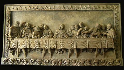 the last supper wall plaque by goran. Black Bedroom Furniture Sets. Home Design Ideas