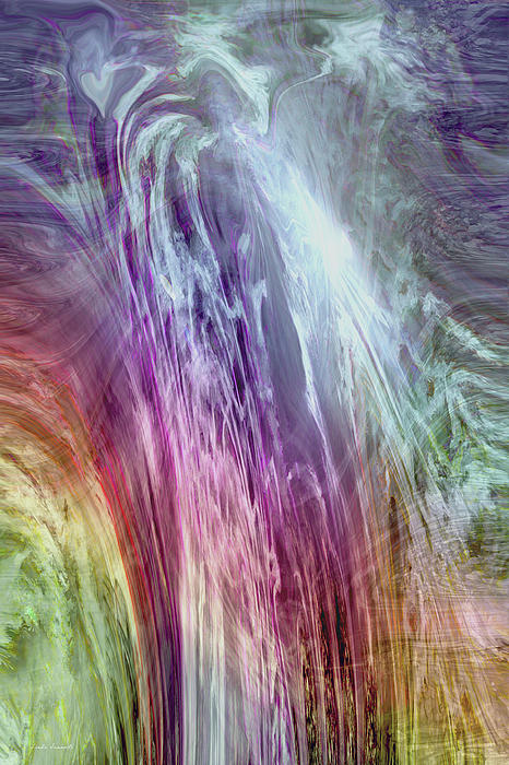 The Light Of The Spirit Print by Linda Sannuti