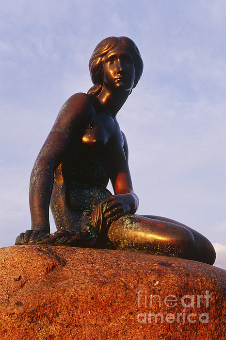 The Little Mermaid, Copenhagen, Denmark Print by Jeremy Woodhouse
